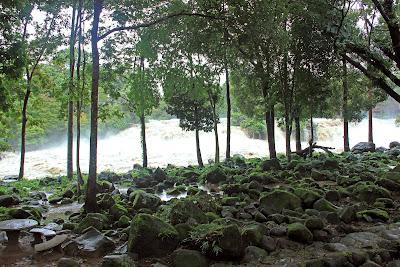 Tad Hang falls