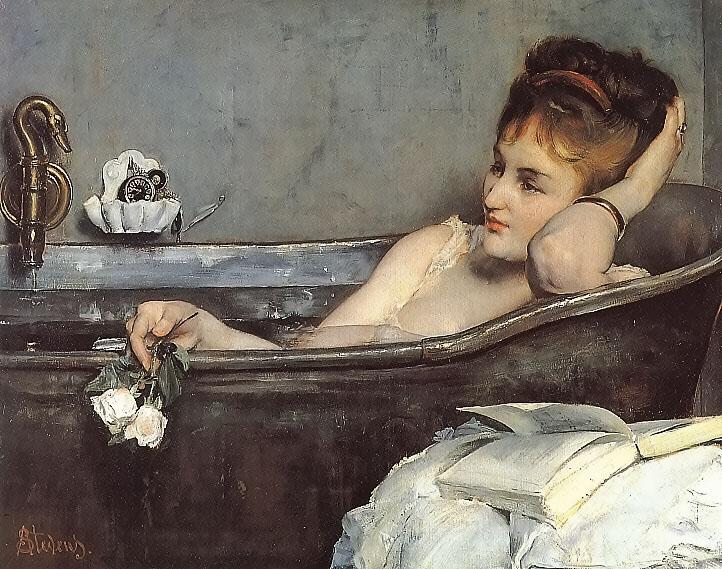 alfred stevens bath