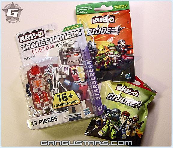 Hasbro Kre-O LEGO g.i.joe Transformers クレオ トランスフォーマー