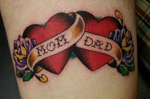 flaming heart tattoos. Heart Tattoo Designs