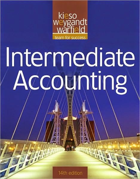 Intermediate accounting 14th edition chapter 7 solutions