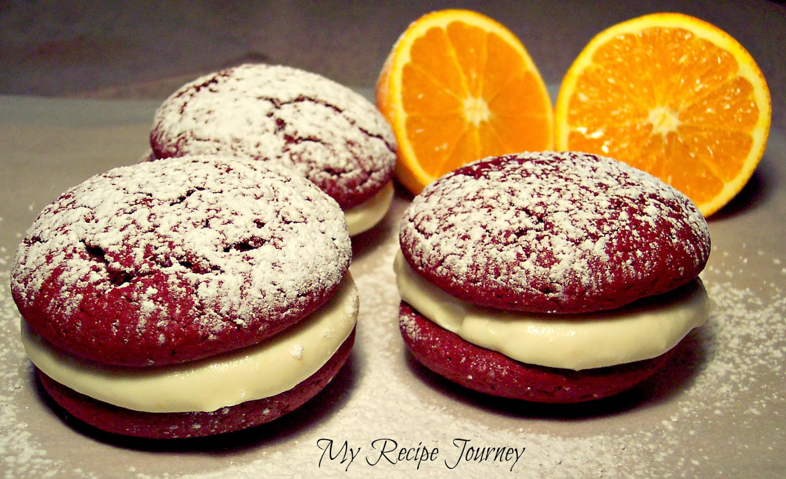 Red Velvet Whoopie Pies and Cookbook Giveaway