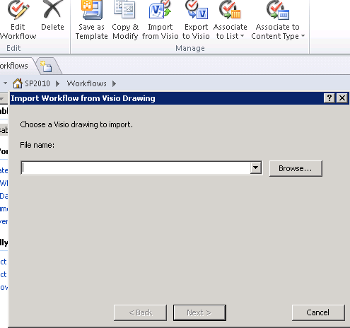 SharePoint Kings: Export Visio diagram to SharePoint Designer ...