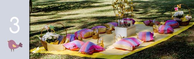 Casamento com tema picnic