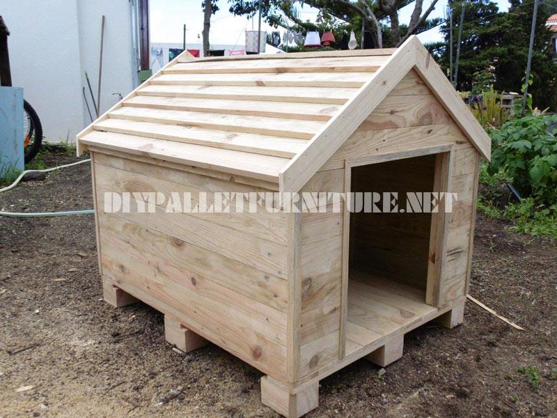 Casa - Casas para perros con palets ...