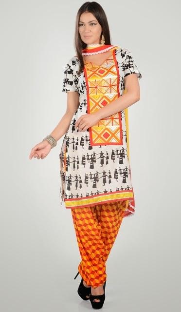 Pakistani Salwar Kameez Designs 2014