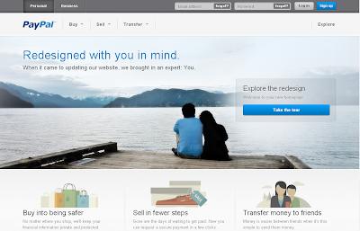Halaman Penipu Yang Mirip Website PayPal