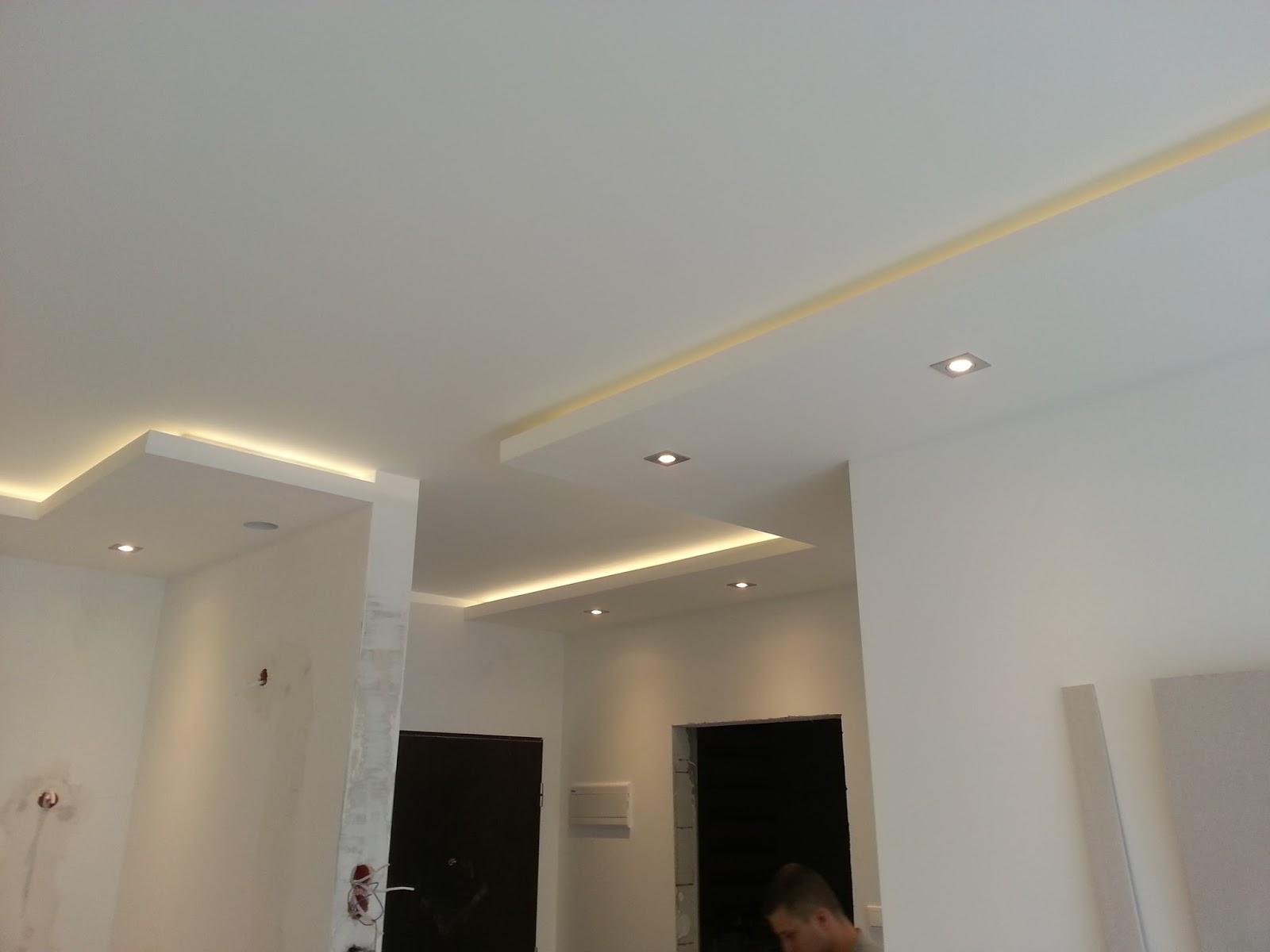 Ma y du y remont remonty gda sk koszt sufit w for Sufit podwieszany w salonie