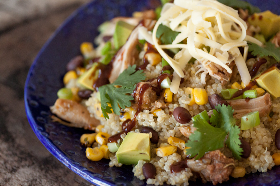 Let's Eat!: BBQ Chicken Quinoa