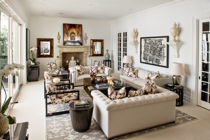 The glam pad a palm beach regency style home for Interior designers palm beach