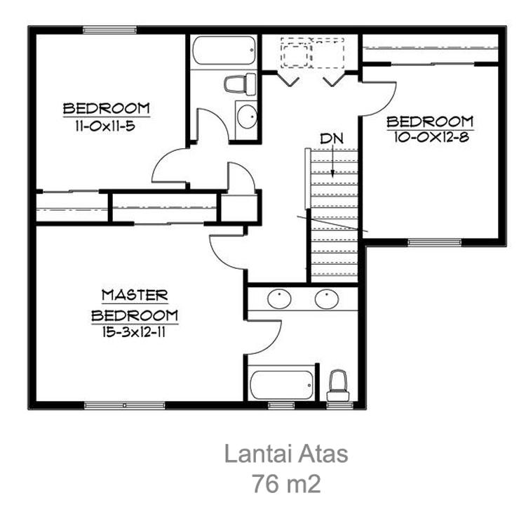 denah dan desain rumah kayu home and design life style