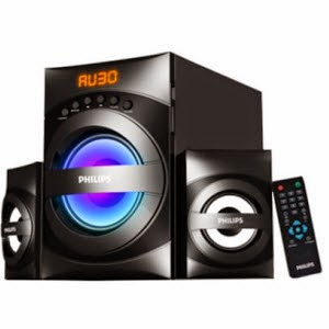 Amazon : Buy Philips MMS3535F 2.1 Multimedia Speaker System at Rs.2,429 only : Buy To Earn
