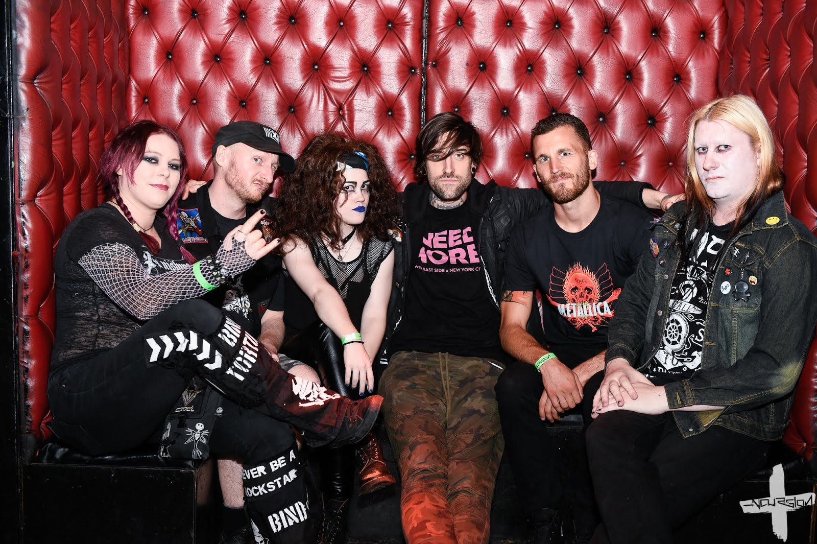 Alternative underground music i played cards against humanity vip encounter with combichrist drummer joe letz in a meet and greet kristyandbryce Gallery