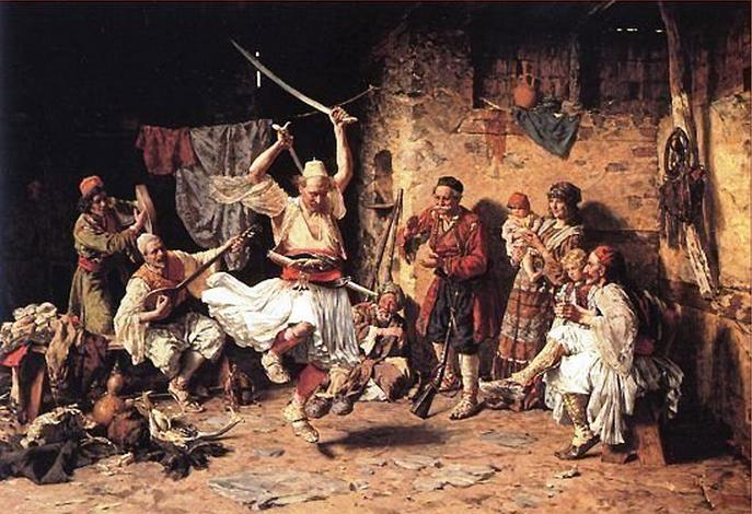 Tanz der Arnauten