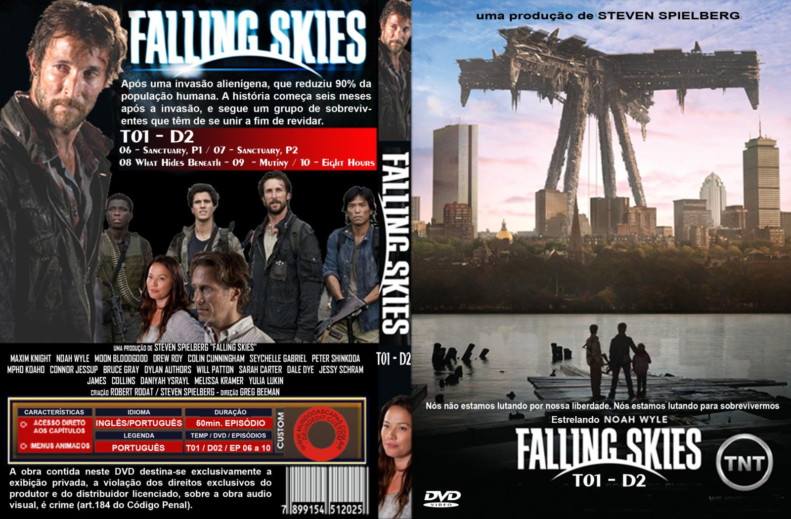 capa+custom+4 Falling Skies 4ª Temporada Torrent   HDTV | 720p | 1080p Dual Audio (2014)