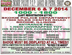 "Skokie FOP ""Toys for Tots"" Pistol Shoot 2014"