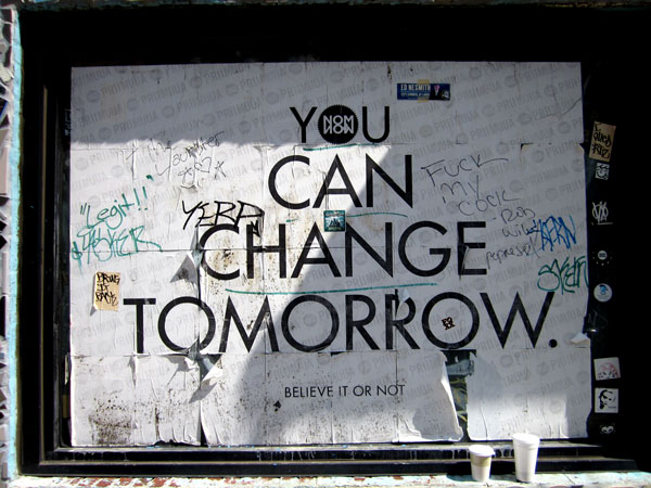 You Can Change Tomorrow by NOM NOW