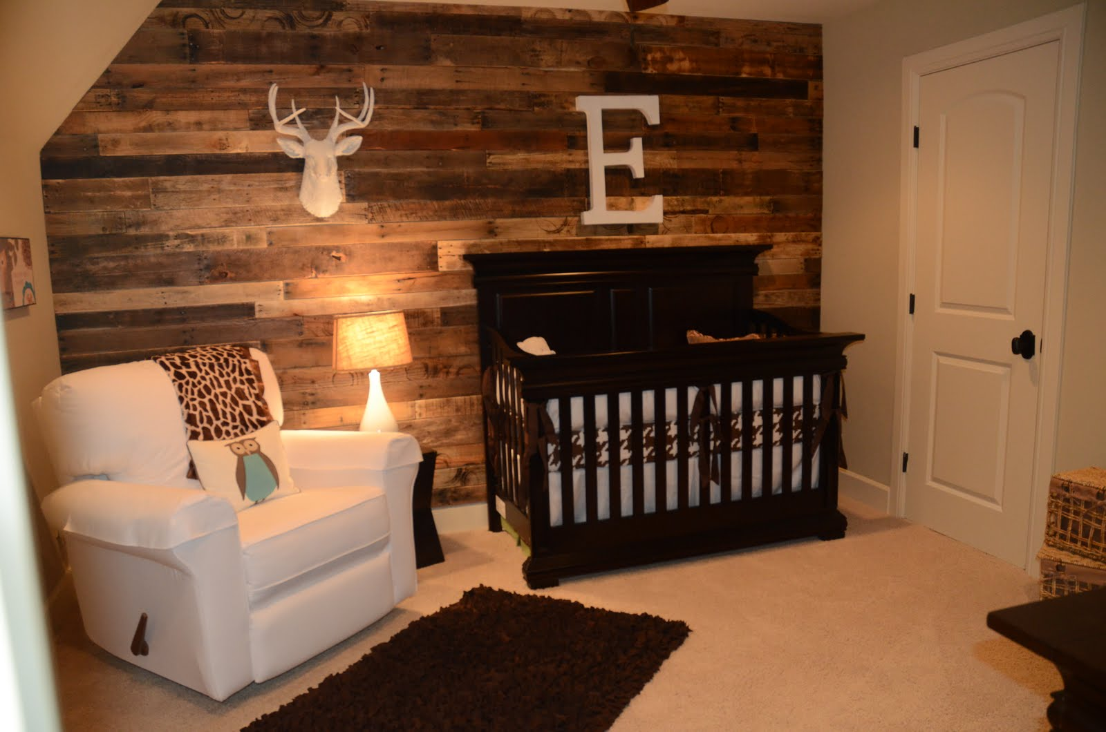 Easton hunter alexander nursery reveal for Chambre bebe garcon