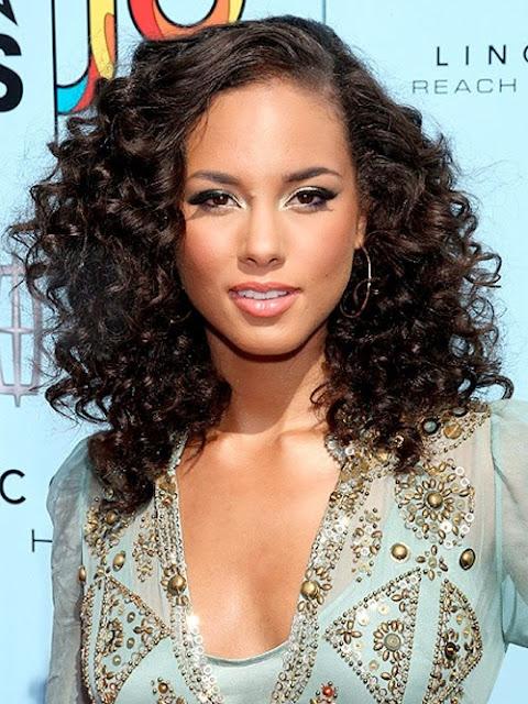 Natural Long Black Hairstyles 2015