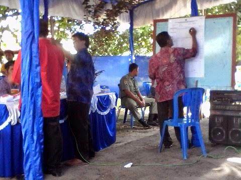Menunggu Hasil Hitungan KPU Jokowi Unggul di Pemalang