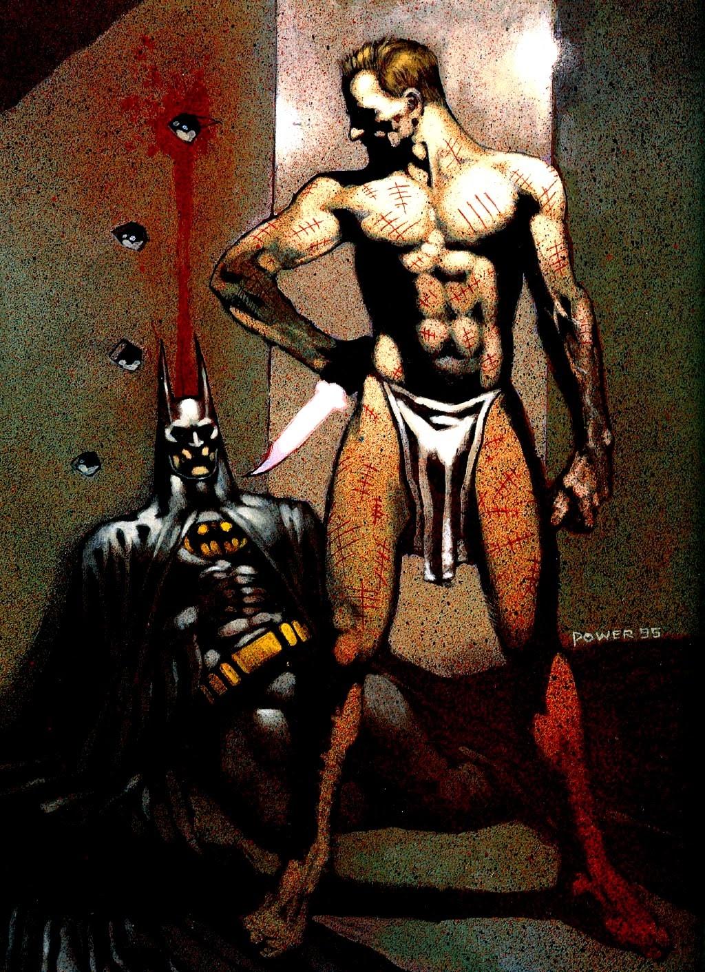 Mr Zsasz villano Batman