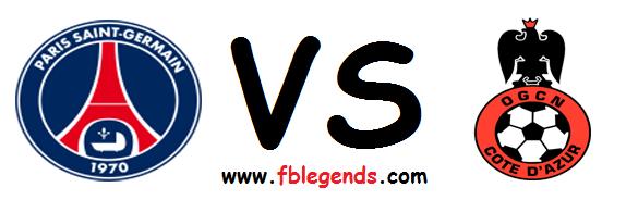 مشاهدة مباراة نيس وباريس سان جيرمان بث مباشر اليوم 18-4-2015 اون لاين الدوري الفرنسي يوتيوب لايف ogc nice vs paris saint germain