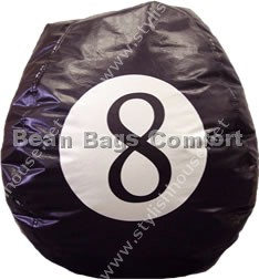 8 Ball bean bag seat