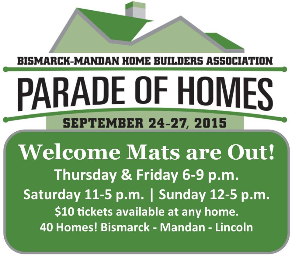 community calendar for bisman and nd parade of homes