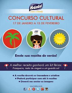 Concurso cultural Hulalá - Férias!