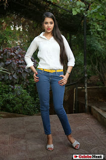 Actress Krutika Singhaal Pictures in Tight Jeans at Silk India Expo 2014  0060.jpg