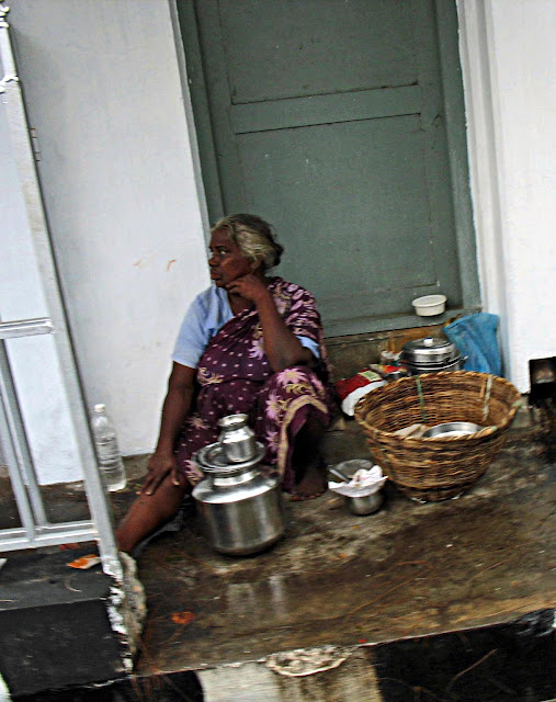 saleswoman from south india