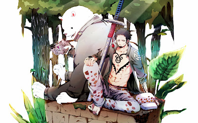 Bepo Trafalgar Law One Piece a657