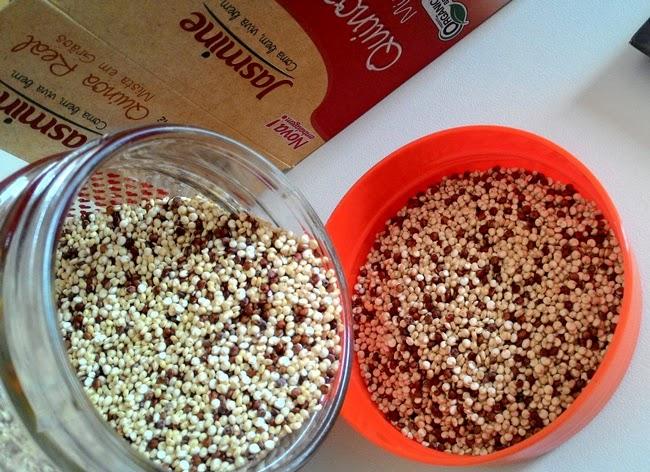 Jasmine, Natue, Recebido, Resenha, Quinoa Real, Na Cozinha da Maricota, Alimentação, Saúde, Saudável, Grãos,