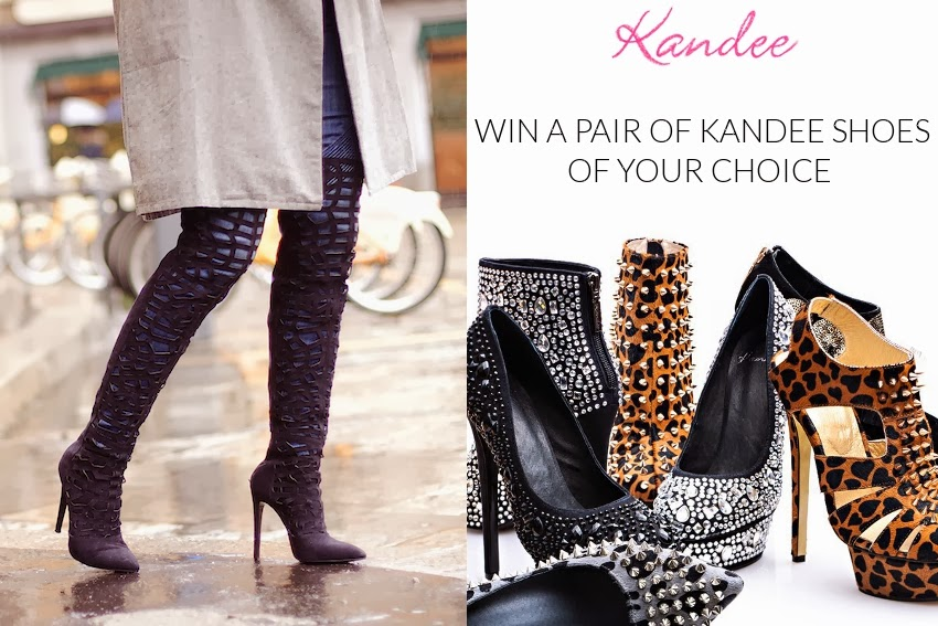 kandee shoes and boots giveaway fashion blog