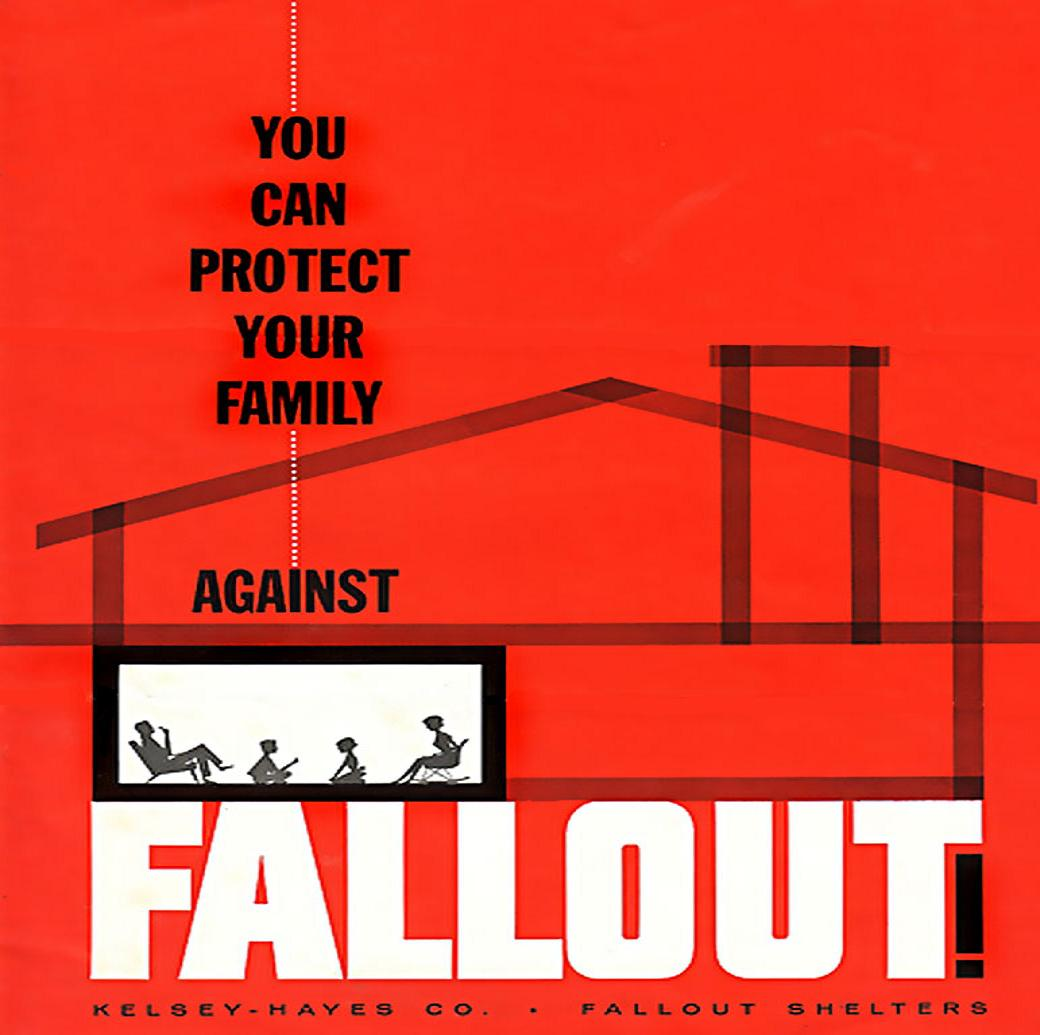 COLD WAR PROPAGANDA No.17 FALLOUT SHELTER CONTRACTORS