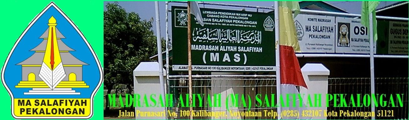 MA Salafiyah Kota Pekalongan