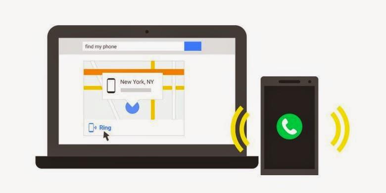 Android Hilang Dicari Dengan Google Aja