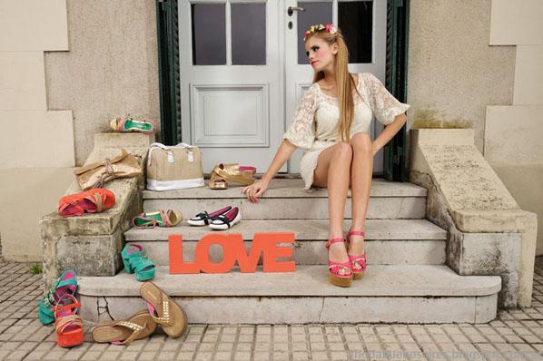 Sandalias 2014, Zapatos 2014, Moda 2014, Moda Calzado Femenino. Laura Constanza primavera verano 2014.