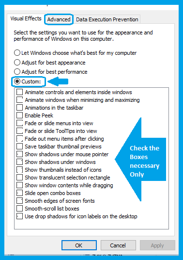 Windows-10, Advance System setting Screen-4