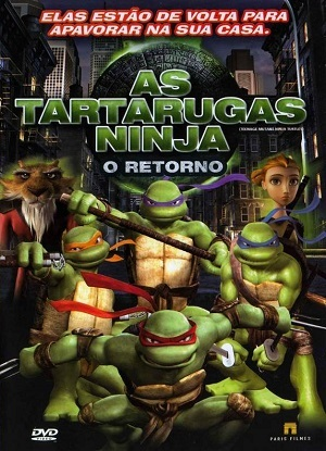 As Tartarugas Ninja - O Retorno Filmes Torrent Download capa