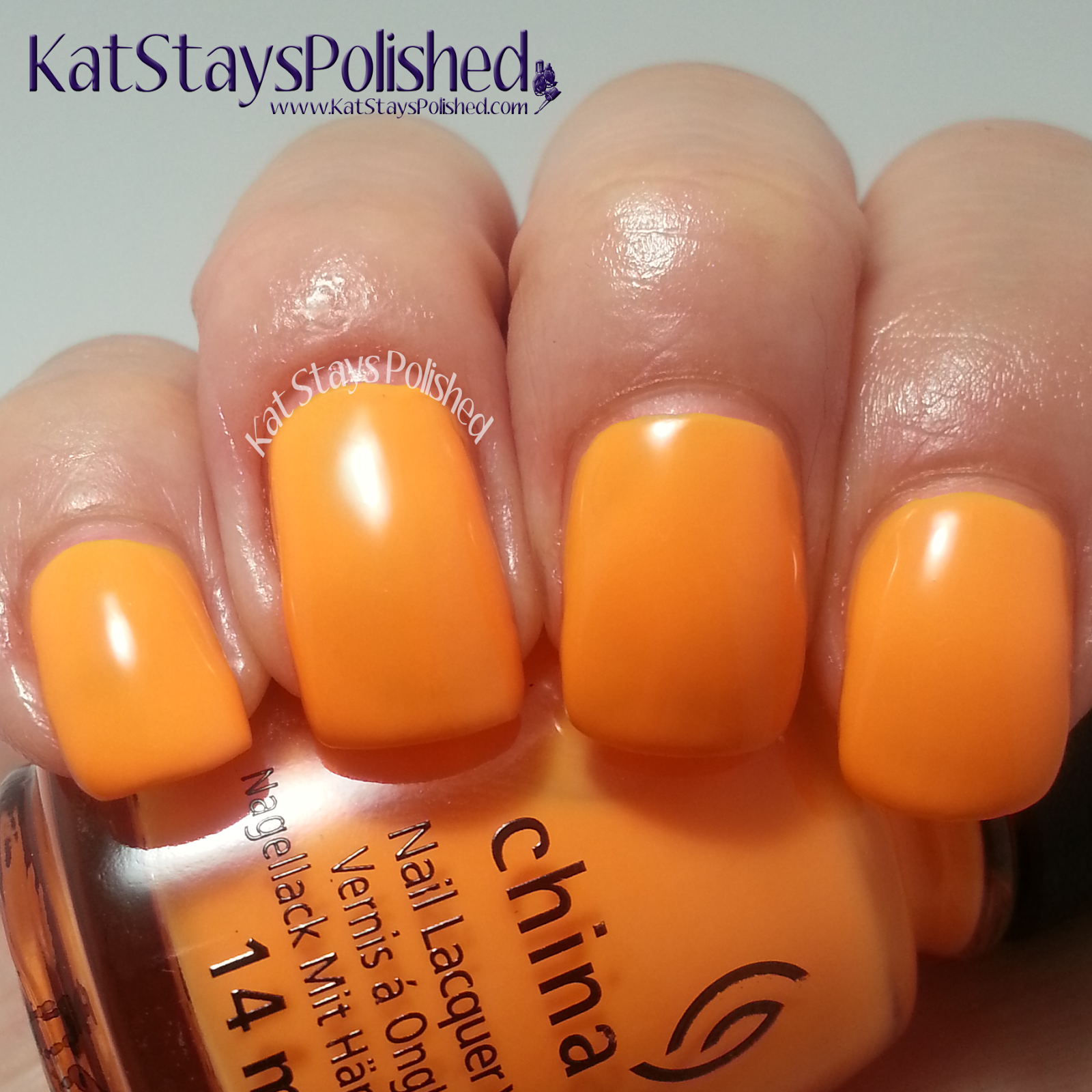 China Glaze Electric Nights - Home Sweet House Music | Kat Stays Polished