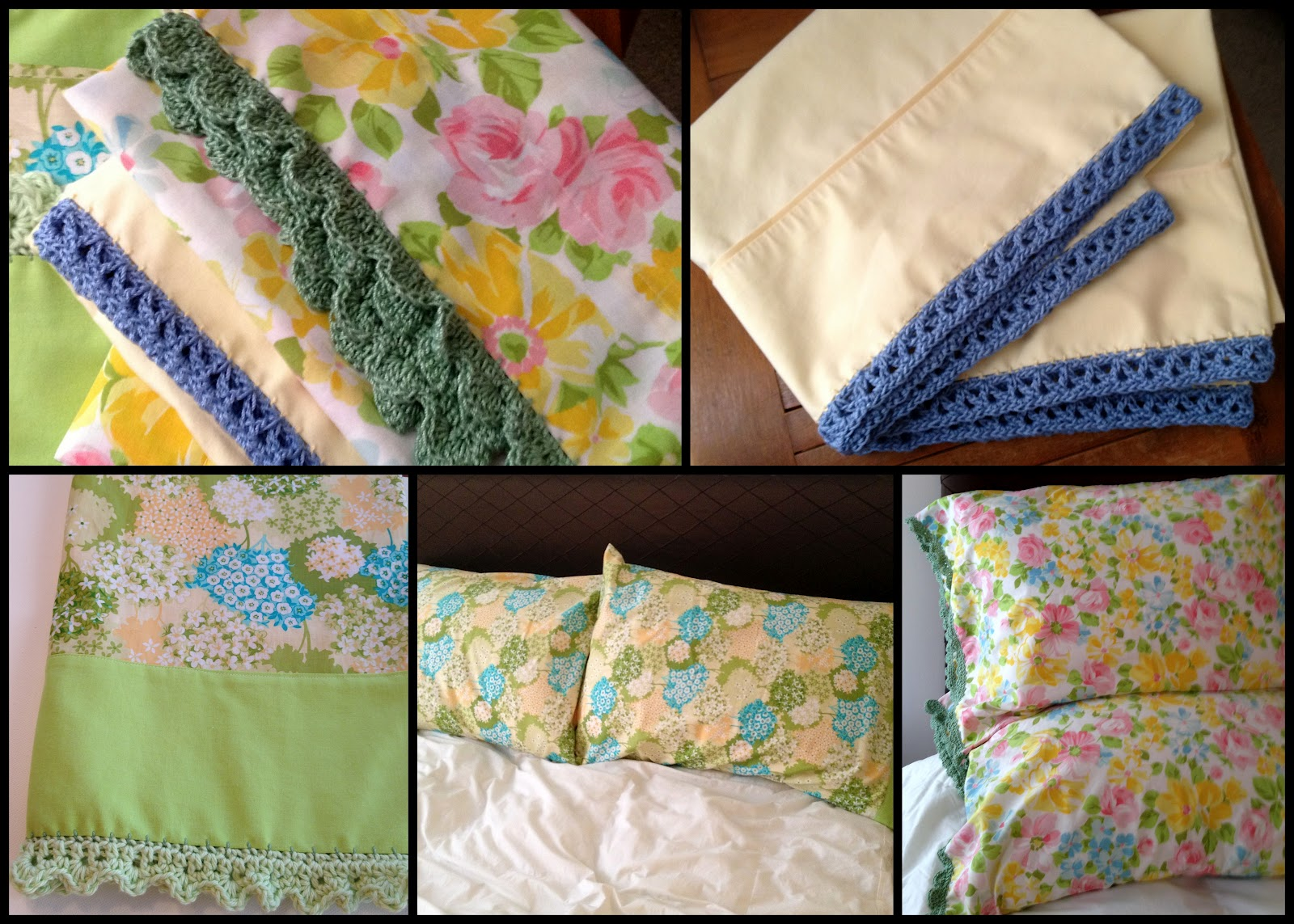 Quilted Cupcake: Vintage Pillowcases : missouri quilt company pillowcase - Adamdwight.com