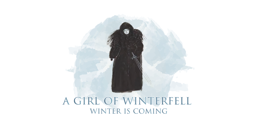 A girl of Winterfell