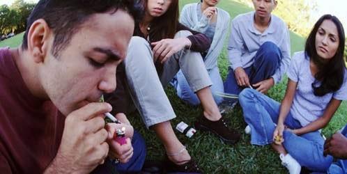 Influencia en la bebida adolescente