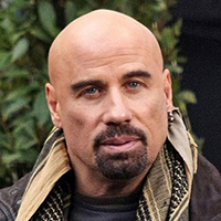John Travolta Bald Actor With Goatee