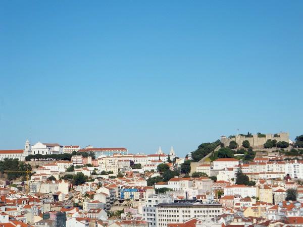 Lisbonne Lisboa belvédère mirador sao pedro de alcantra