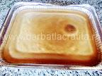 Prajitura chinezoaica (negresa cu nuca) preparare reteta - glazura rumenita frumos la cuptor