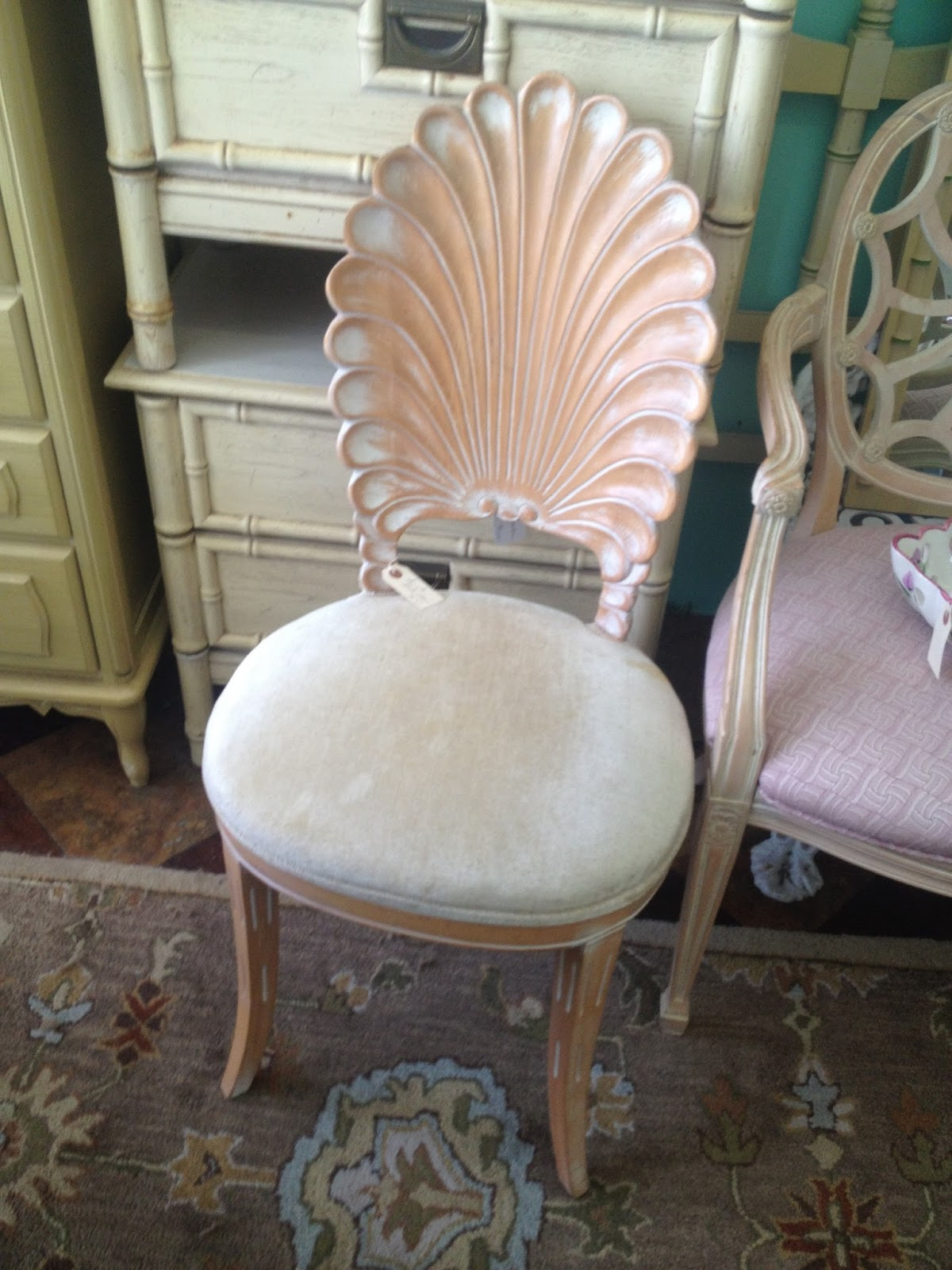 Luxe Report Luxe Lifestyle Favorite New Purchase Shell Back Chair