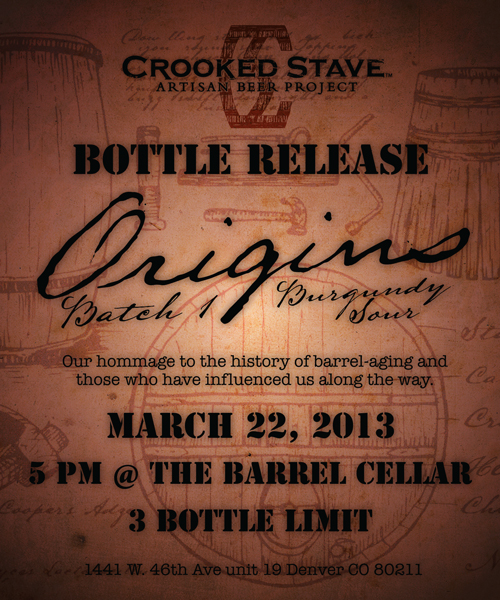 Crooked Stave Origins Burgundy Sour
