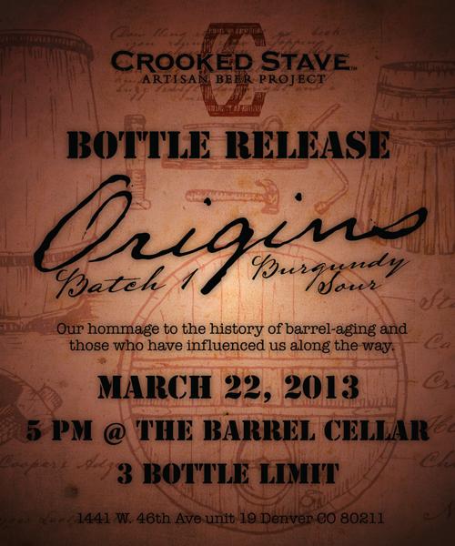 Crooked Stave Origins Burgundy Sour